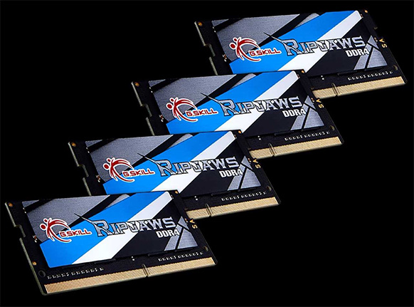 G.Skill Ripjaws DDR4 SO-DIMM