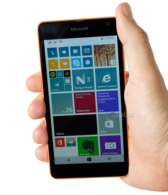 Microsoft Lumia 535 – test taniego 5-calowego smartfona z Windows