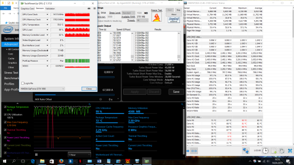 Acer aspire VX stress test GPU/CPU