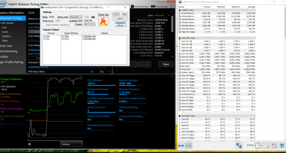Acer aspire VX test CPU